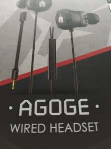 spartan gear agoge wired headset