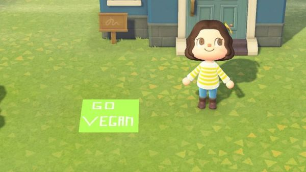 vegan animal crossing peta