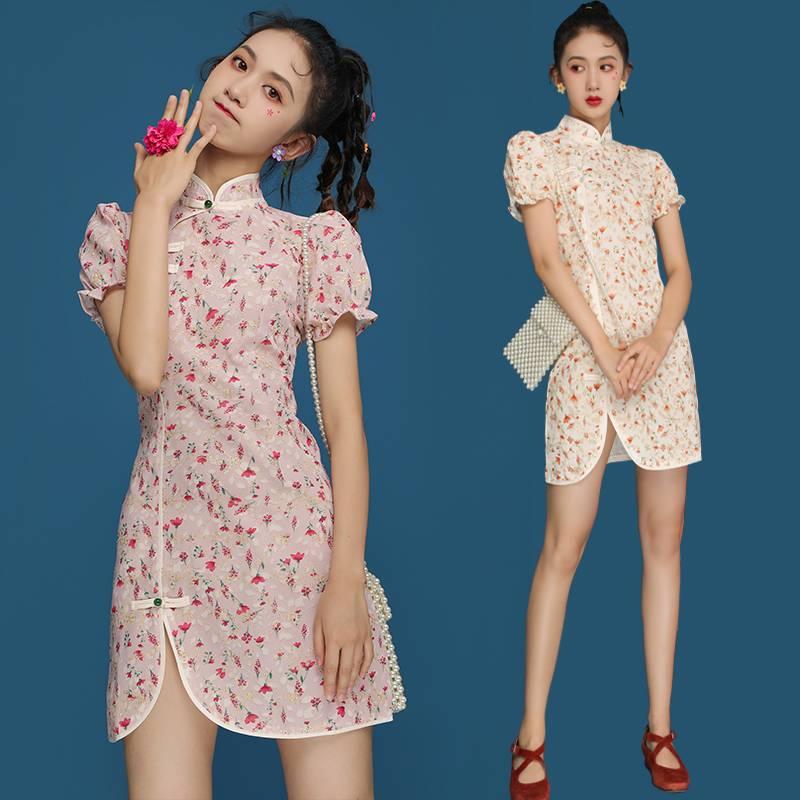 Xplode LIAO_CNY Series_Floral Cheongsam