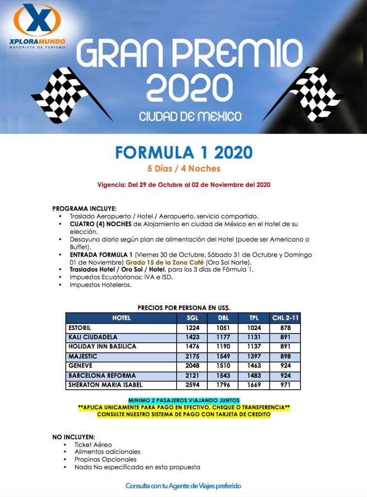 FORMULA 1 - 2020