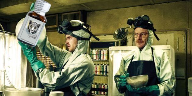 Montage Breaking Bad Poppers