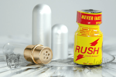 Poppers Rush + inhalateur pour poppers