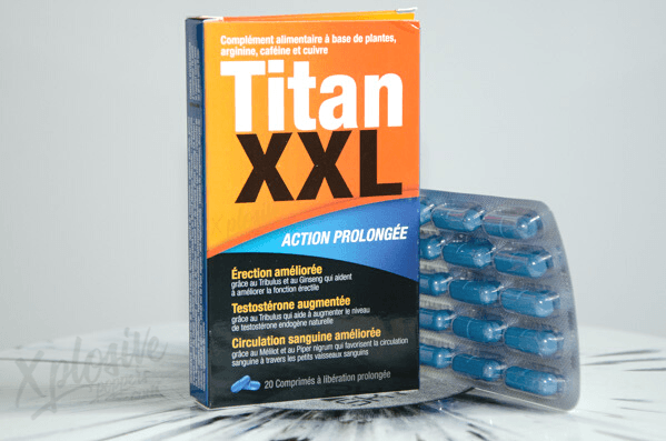 Titan XXL améliore l'érection
