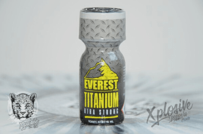 Poppers everest Titanium pas cher
