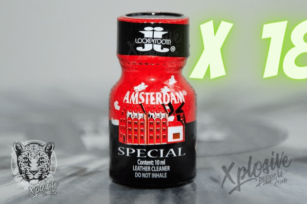 PACK Grossiste 18 POPPERS AMSTERDAM 10ml