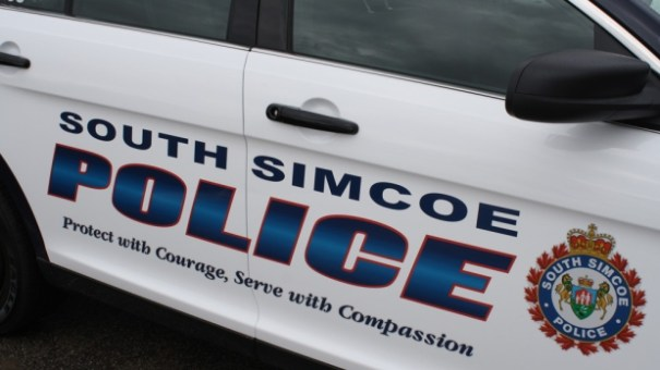 A South Simcoe police car photo from Tuesday, April 21, 2015.