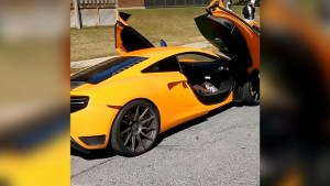 One of the other Lamborghinis that was impounded.