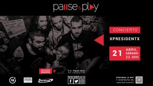 XpresidentX Rap Metal Punk España PlanetOcio Collado Gira Resacon en eurovegas 2018
