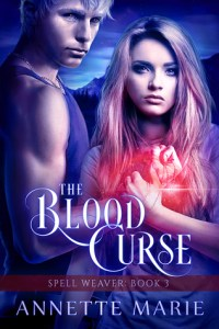 The Blood Curse by Annette Marie cover