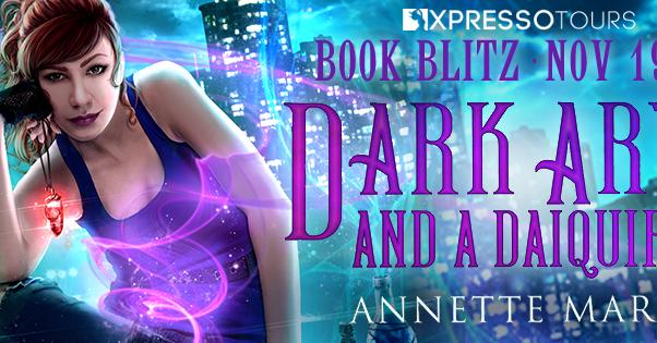 Dark Arts and a Daiquiri book blitz banner