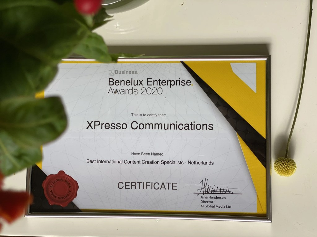 Xpresso-Communications-wins-Award-International-Best-Content-Specialists-2020