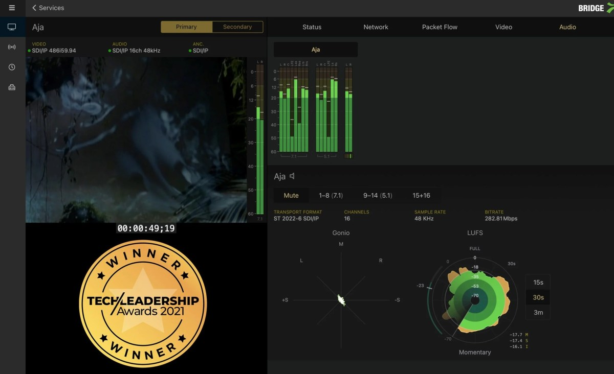 Bridge Technologies-wins-award