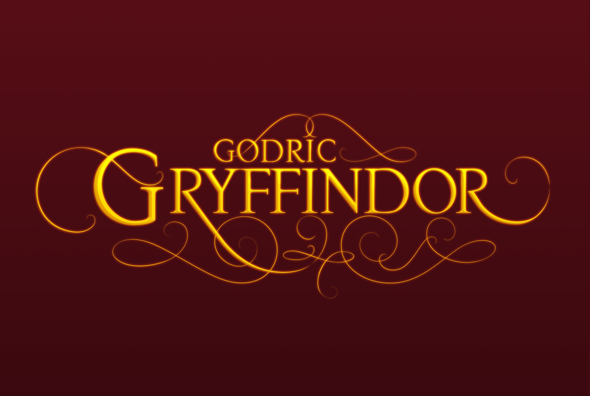 Harry potter redesign letterings qing - Hogwarts decal ...