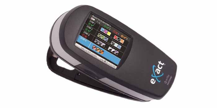 X-Rite eXact; Handheld Spectrophotometer and Densitometer