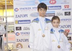 Δυο πρωταθλητές Ελλάδος ανέδειξε από το σύλλογο ΤΑΕ ΚΒΟ ΝΤΟ Καβάλας