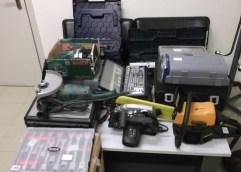 Εξιχνιάστηκαν 4 περιπτώσεις κλοπής και 1 απόπειρα σε οικίες της Καβάλας