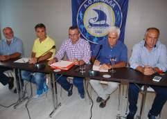 ΑΟΚ –  Παραιτήσεις του γενικού αρχηγού κ.Λάκη Χατζηαποστολίδη και του τεχνικού διευθυντή κ.Στέλιου Κατρακυλάκη