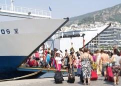 Της έκλεψαν την βαλίτσα στο λιμάνι της Καβάλας