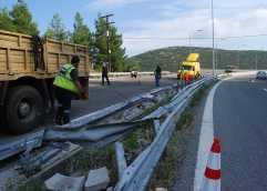 Τρελό φορτηγό έσπειρε πανικό στην Εγνατία