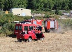 Έσβησε η φωτιά που ξέσπασε νωρίς το μεσημέρι στην περιοχή Αγιάσματος