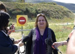 Εικόνες από το μνημείο στον Τύμβο Καστά και οι σημερινές δηλώσεις (βίντεο)