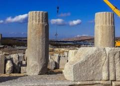 ΔΗΛΟΣ: Ολοκληρώθηκαν οι προκαταρκτικές εργασίες για την αναστήλωση της Στοάς του Φιλίππου Ε'