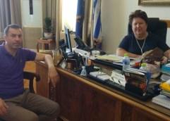Ο Παύλος Ζησίμου στην Δήμητρα Τσανάκα για το θέμα των διοδίων
