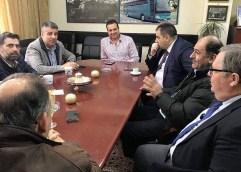 Επίσκεψη Υποψήφιου Περιφερειάρχη Χριστόδουλου Τοψίδη στο Υπεραστικό ΚΤΕΛ Καβάλας