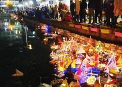 ΔΡΑΜΑ: Οι ευχές των παιδιών «ταξίδεψαν» στα νερά της Αγίας Βαρβάρας με τα χάρτινα καραβάκια