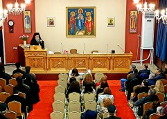 ΠΑΡΑ ΤΗΝ ΔΙΑΦΟΡΕΤΙΚΗ ΘΕΣΗ ΤΗΣ ΕΛΜΕ ΚΑΒΑΛΑΣ: Έγινε η συνάντηση του σεβ. Μητροπολίτου ΦΝΘ κ. Στεφάνου με τους θεολόγους καθηγητές