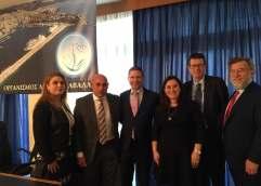 Με Άννα Θυσιάδου  και Γιώργο Φιλόσογλου Γιώργο συναντήθηκε ο Αμερικανός Πρόξενος της Θεσσαλονίκης Gregory Pfleger