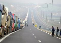 ΣΕΡΡΕΣ: Αυξημένη από νωρίς το πρωί η κίνηση των αυτοκίνητων στο τελωνείο του Προμαχώνα