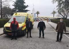 ΠΕΡΙΦΕΡΕΙΑΚΗ ΕΝΟΤΗΤΑ ΚΑΒΑΛΑΣ: Παρέδωσε στο νοσοκομείο μάσκες και σετ ρουχισμού