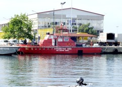 ΜΑΚΑΡΙΟΣ ΛΑΖΑΡΙΔΗΣ: «Η Καβάλα αποκτά νεότευκτο, σύγχρονο πυροσβεστικό πλοίο»