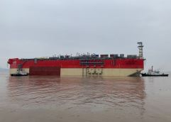 """Το κύτος του FPSO """"EnergeanPower"""" αναχώρησε από την Κίνα"""