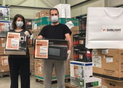 SUNLIGHT: Στήριξη σε νοσοκομεία, σχολεία και φορείς της Καβάλας και της Θράκης