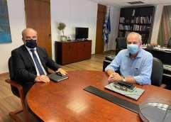 Στην Αθήνα ο Θόδωρος Μουριάδης για Παλιό Νοσοκομείο και Νέες Σχολικές Μονάδες