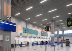 Oι θυγατρικές εταιρίες της Lufthansa διατηρούν εδώ και πολλά χρόνια συνδέσεις με τη Γερμανία από το αεροδρόμιο «Μέγας Αλέξανδρος» της Καβάλας