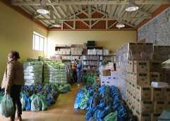 Διανομή τροφίμων από το Δήμο Καβάλας