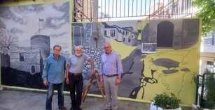 ΔΗΜΟΣ ΚΑΒΑΛΑΣ: Οι ζωγράφοι Γιάννης Κανίογλου και Λόης Ανθάκης έδωσαν χρώμα στο πάρκο της οδού Πτολεμαίου