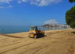 Οι παραλίες του Δήμου Καβάλας «ντύνονται» καλοκαιρινά