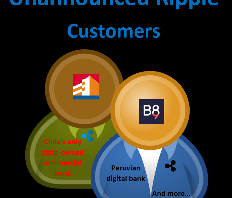Ripple unannounced customers revealed