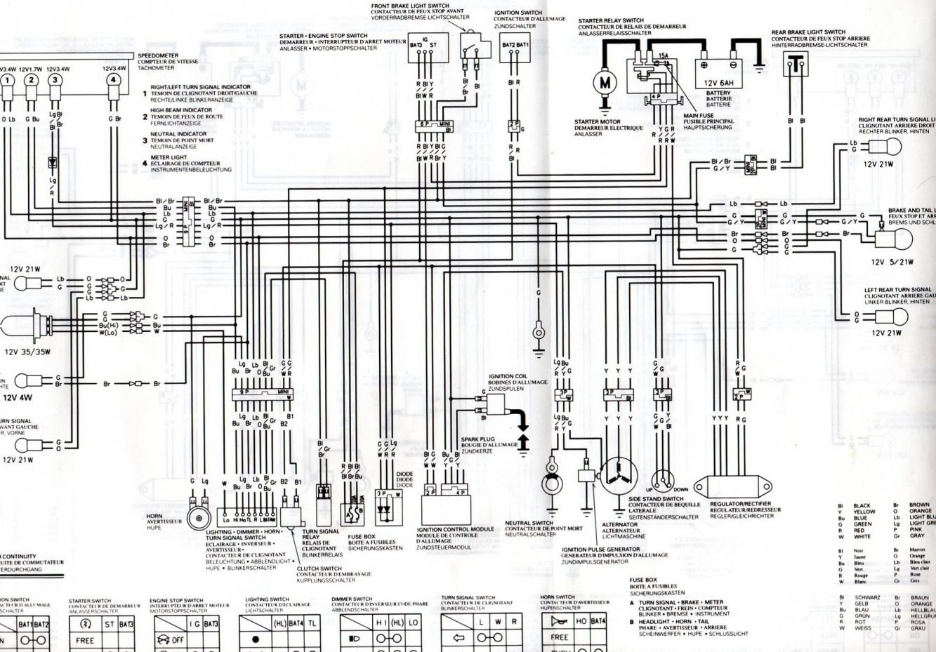 Picture 1 Of 1 From Honda Xlr 125 Wiring Diagram