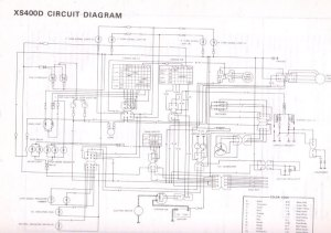 1981 Yamaha Seca Wiring Diagram  Wiring Diagram