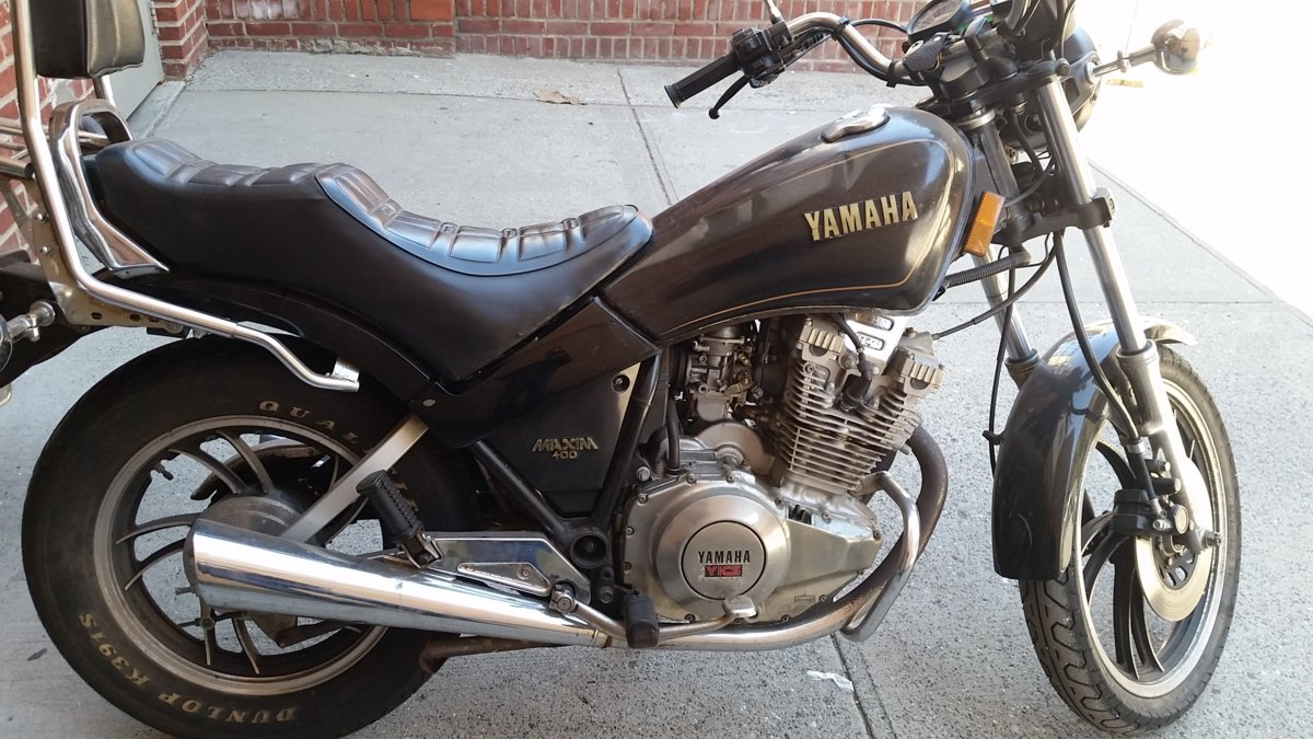 For Sale For Sale 1983 Xs400 Maxim 7000 Miles