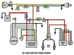 1980 XS650 AlternatorStator Wiring Questions | Yamaha