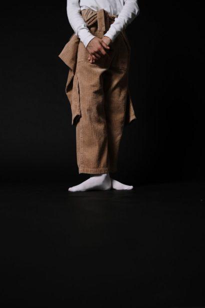 Homme velours marron