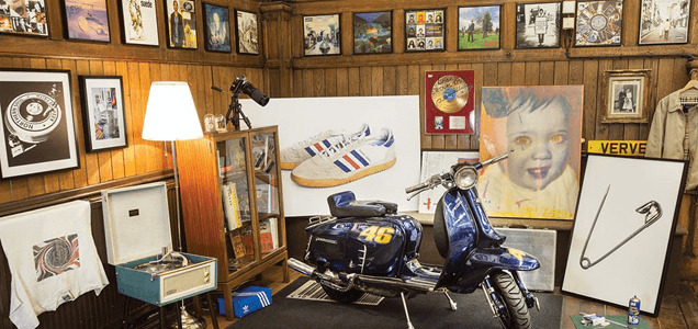 MICRODOT 25th Anniversary Exhibition / Rare Oasis and Verve Artwork on Display 1
