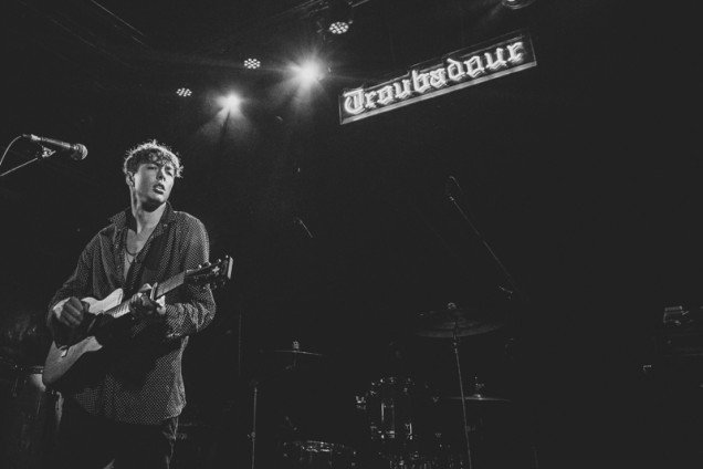 Barns Courtney at The Troubadour in Los Angeles supporting Ellle King © Debi Del Grande