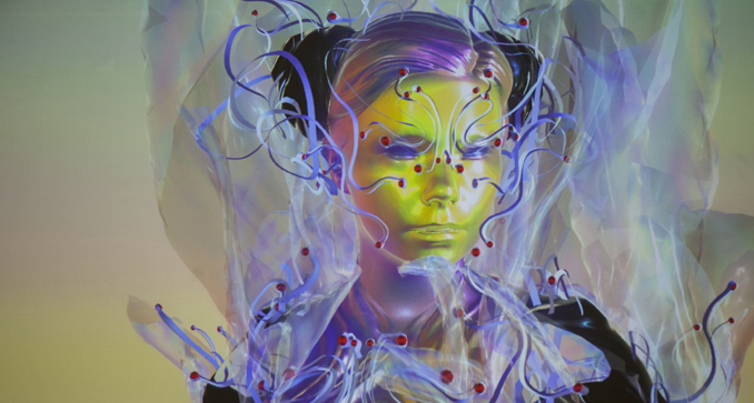 Björk conducts the world's first live motion capture Q&A 1